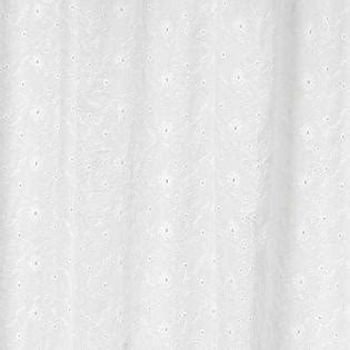 Eyelet Shower Curtains White Sweet Jojo Designs Eyelet White Collection Shower Curtain