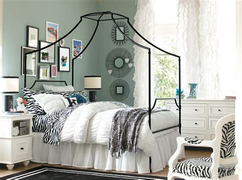 zebra print teenage bedroom ideas pottery barn bedding teen style homesfeed