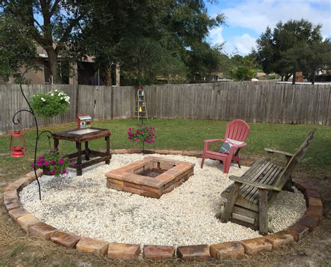 how to build a firepit in the ground above ground pool area turned into a pit area