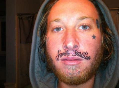 25 of the worst face tattoos ever weknowmemes