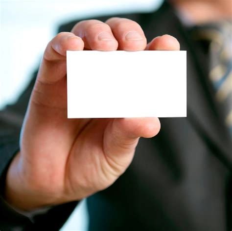 Two Person Business Card