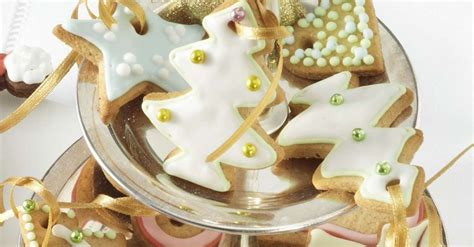 glazed christmas cookie ornaments recipe eat smarter usa