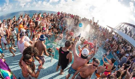 round boat party australia s first only cruise ship festival has been