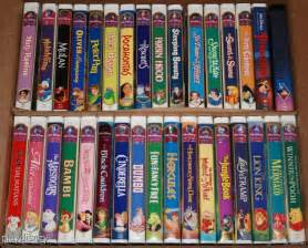 Universal Toaster My Disney Vhs Collection Gold Classic Collection Titles
