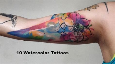 watercolor tattoo after years controversy watercolor trend should make you