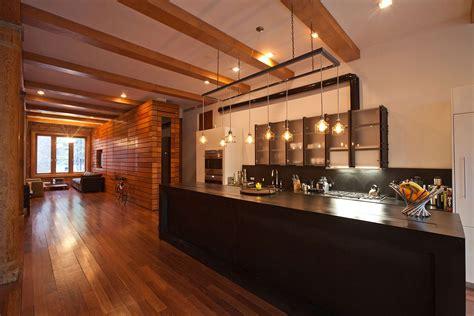 New York Loft Kitchen Design Kitchen Lighting Loft In Noho New York City Kitchens Lofts Kitchens And Loft