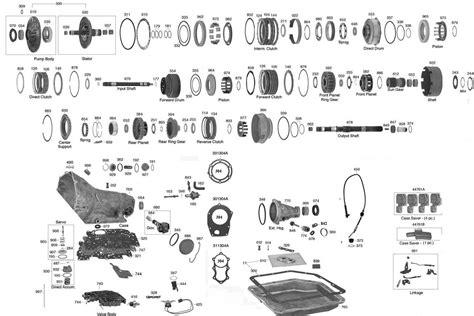 transmission parts diagram trans parts
