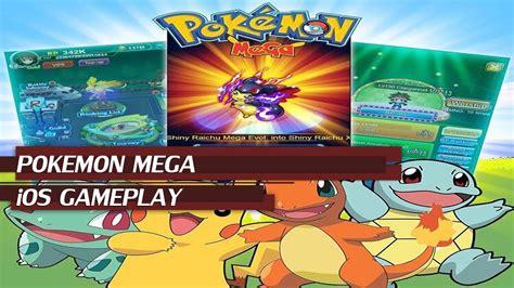 game rpg mega mod pokemon mega ios gameplay best online pokemon rpg game