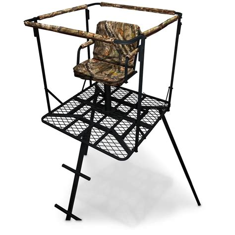 swivel tree stand sniper 16 outlaw tripod swivel stand 637025 tower