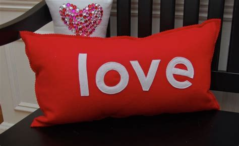 valentines pillows of the house pillows