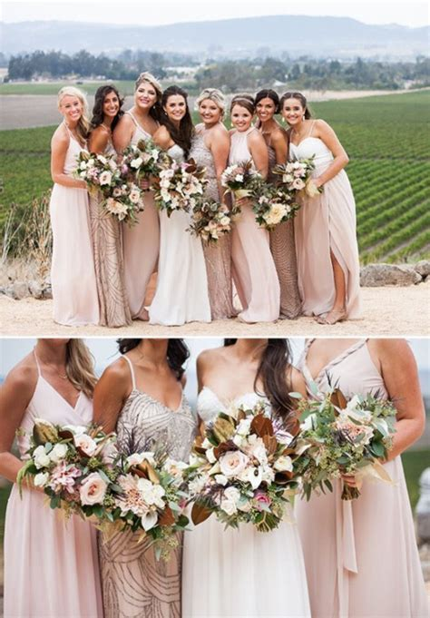 Best 25  Blush bridesmaid dresses ideas on Pinterest