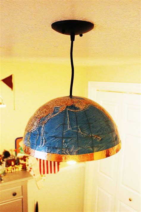 diy globe pendant light diy globe pendant light a and easy lighting upgrade