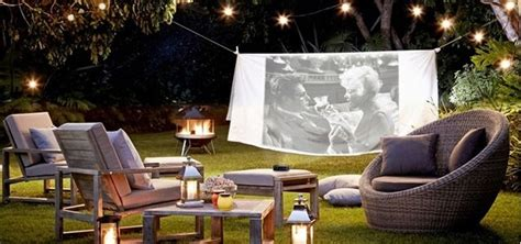 diy backyard theater outdoor home theater archives my cosy retreat interiors diy table settings