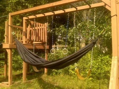cool outdoor swings 50 impossibly cool swing set ups for your home