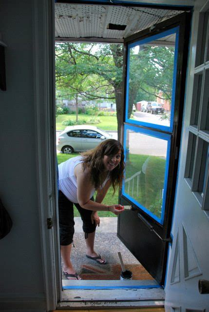 painting aluminum screen enclosures the diy files painting a screen door the sweetest digs