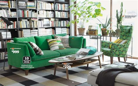green sofa living room ikea 2014 catalog full