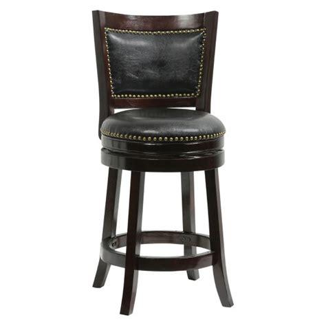 target bar stools swivel bristol 24 quot swivel counter stool boraam target