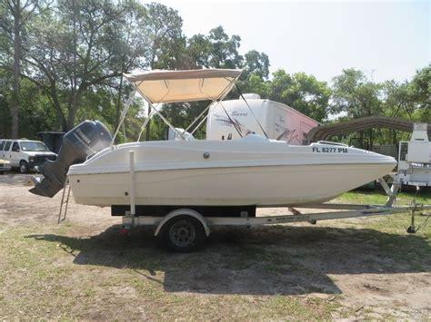 deck boat yamaha hurricane sun deck sport 188 w 150 hp yamaha boat for