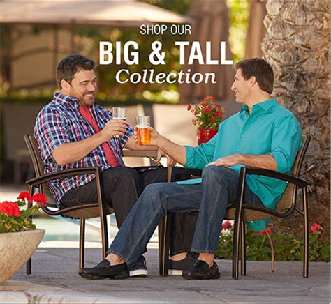 what stores have big and tall sections big and tall clothing for men destination xl