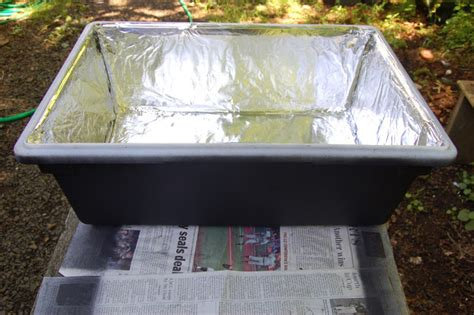 solar wax melter the hive frugal beekeeping