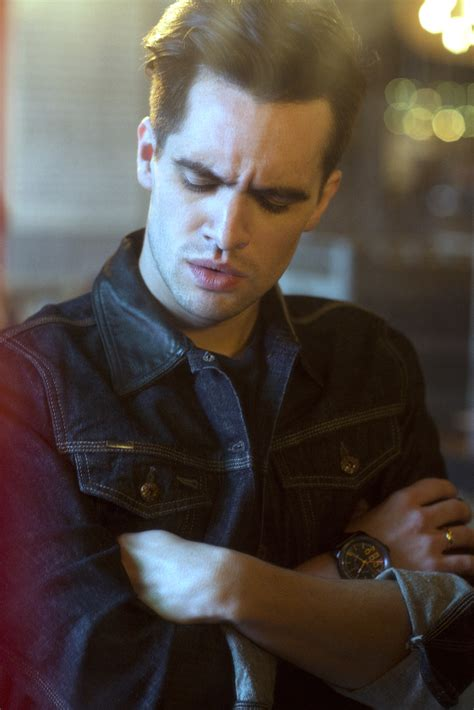 brendon urie brendon urie of panic at the disco interview ladygunn
