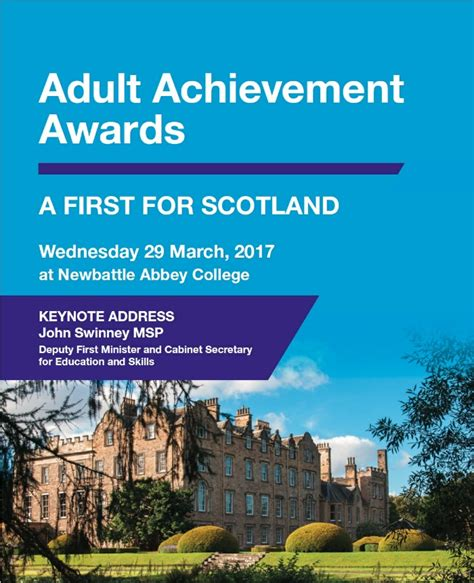 education scotland themes across learning celebrating achievement in adult learning aj enterprises