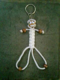 membuat gantungan kunci dari tali kur lilis ambarwati gantungan kunci