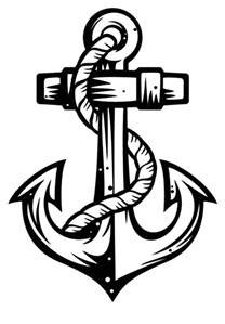 anchor color anchor coloring pages pictures to pin on pinsdaddy