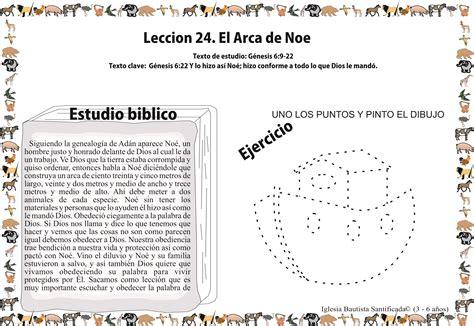 preguntas biblicas para niños del libro de genesis lecci 243 n 24 el arca de no 233 iglesia de ni 241 os