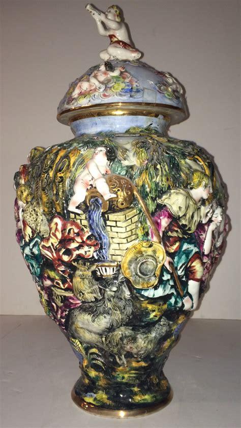capodimonte vase capodimonte urn vase modernism