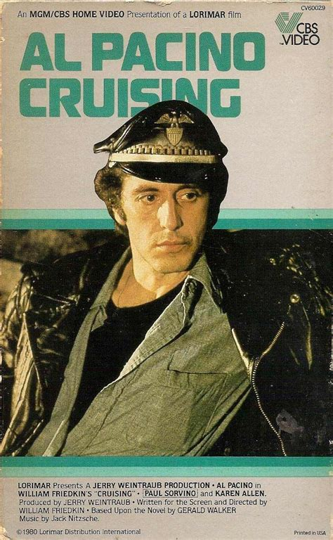 film terbaik al pacino cruising 1980 starring al pacino mgm cbs home video