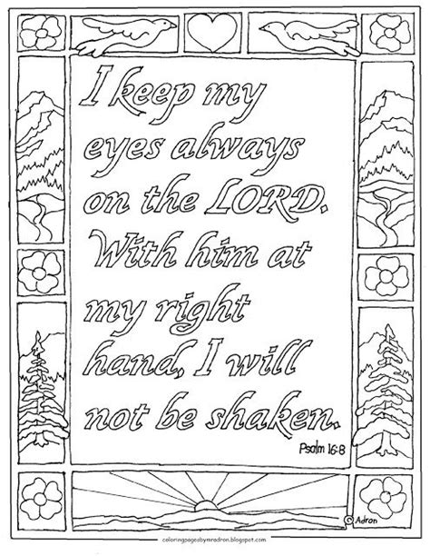 9 best images about bible verse adult coloring sheets on coloring pages for kids by mr adron bible verse