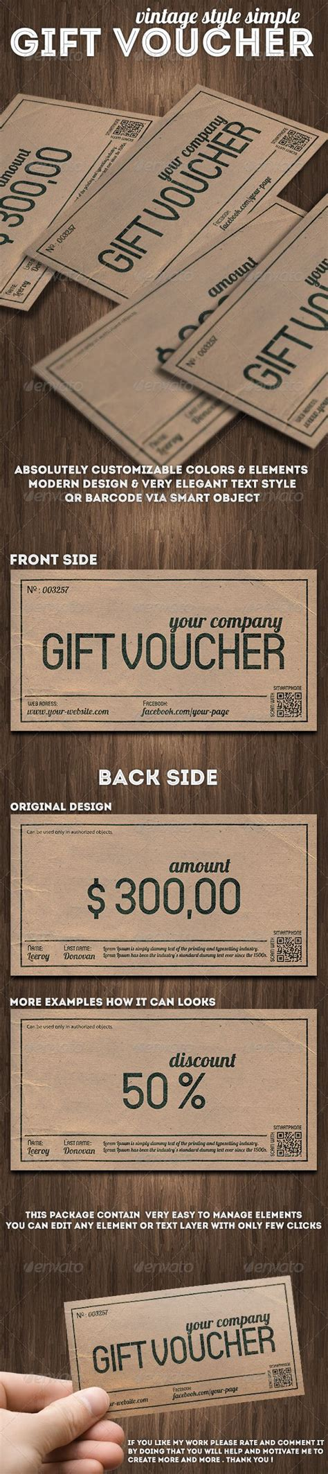 printable vouchers london vintage style gift voucher or discount coupon vintage