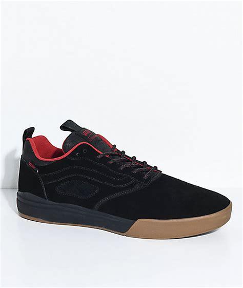 Sepatu Vans X Spitfire vans x spitfire ultrarange pro black skate shoes zumiez