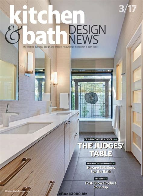 designer kitchen and bathroom magazine kitchen bath design news march 2017 free pdf magazine