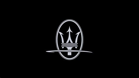 maserati logo white maserati logo wallpapers wallpaper cave