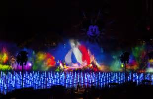 world of color what s a tweetblog plus disney california adventure