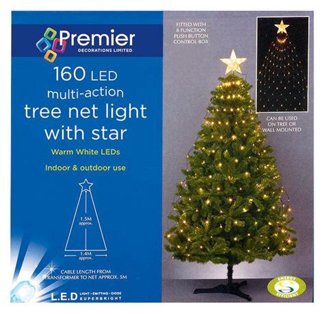 Tree Net Light 160 Leds Xmas Lights Indoor Outdoor Tree Net Lights
