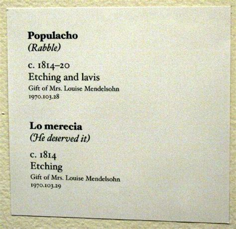 Museum Labels Flickr Museum Labels Pinterest Francisco Goya Art Museum And Photography Gallery Labels Template