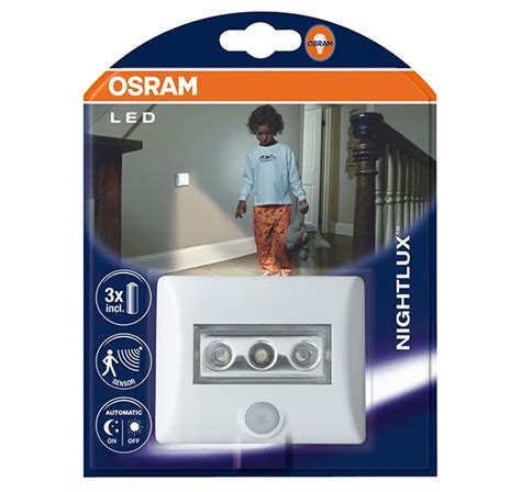 Lu Infrared Osram osram led nightlux luz nocturna con sensor de movimiento