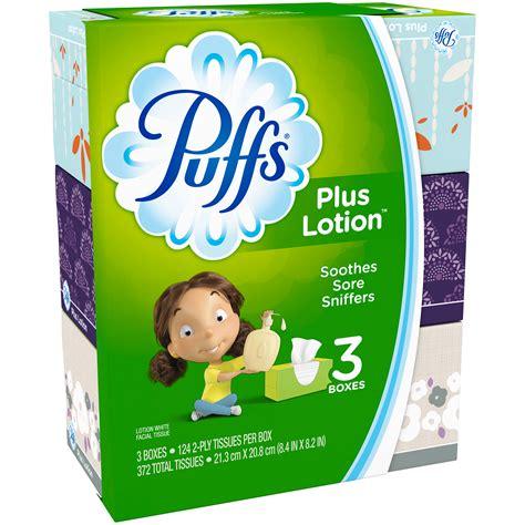 Lotion White Plus puffs tissue plus lotion white 2 ply 3 boxes