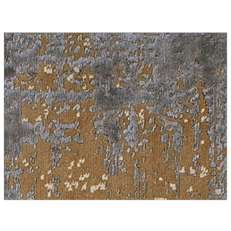 New Zealand Wool Rugs Uk by Caramel Knotted New Zealand Wool And Viscose Sheen Rug