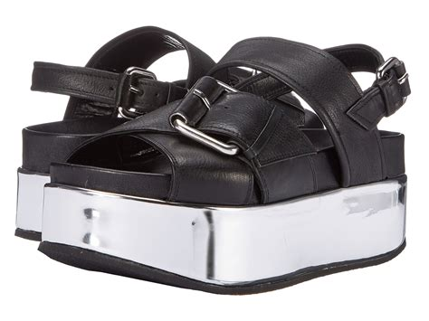 zappos wedge sandals mcq catch wedge sandal black zappos free shipping