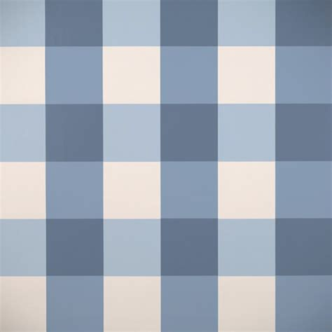Gertrude's Plaid Wallpaper, Dark Blue   $139.00 : DIGS