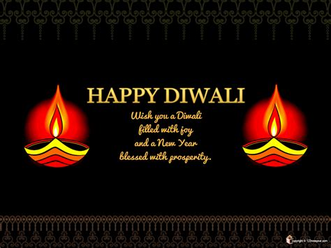 diwali message wallpaper