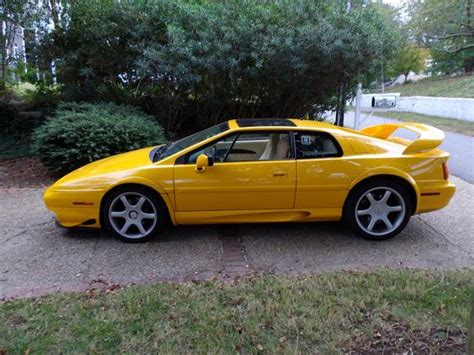 car owners manuals for sale 2000 lotus esprit auto manual lotus esprit for sale global autosports