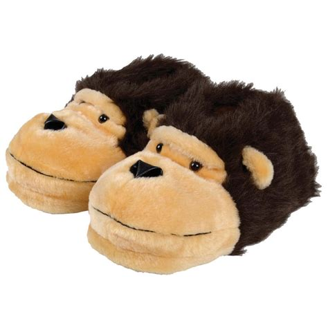 monkey house shoes mens slippers novelty monkey face adults slippers all sizes available