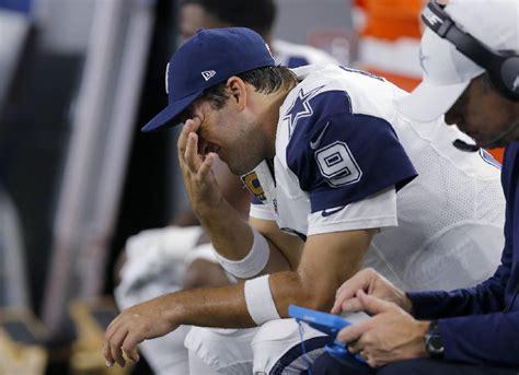 tony romo bench press dallas cowboys quarterback tony romo out for season times free press