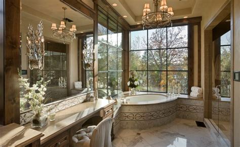 elegant bathrooms fresh designs built around a corner bathtub