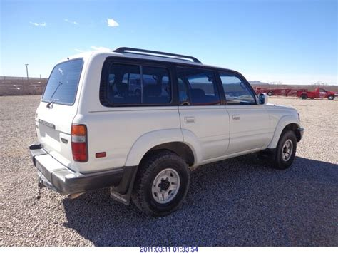 Toyota Dismantlers 1992 Toyota Land Cruiser Restored Salvage Title Rod